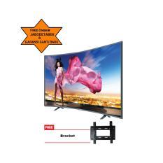 ICHIKO TV LED 55inch Ultra HD 4K Curve Basic (model S5568) Free Bracket
