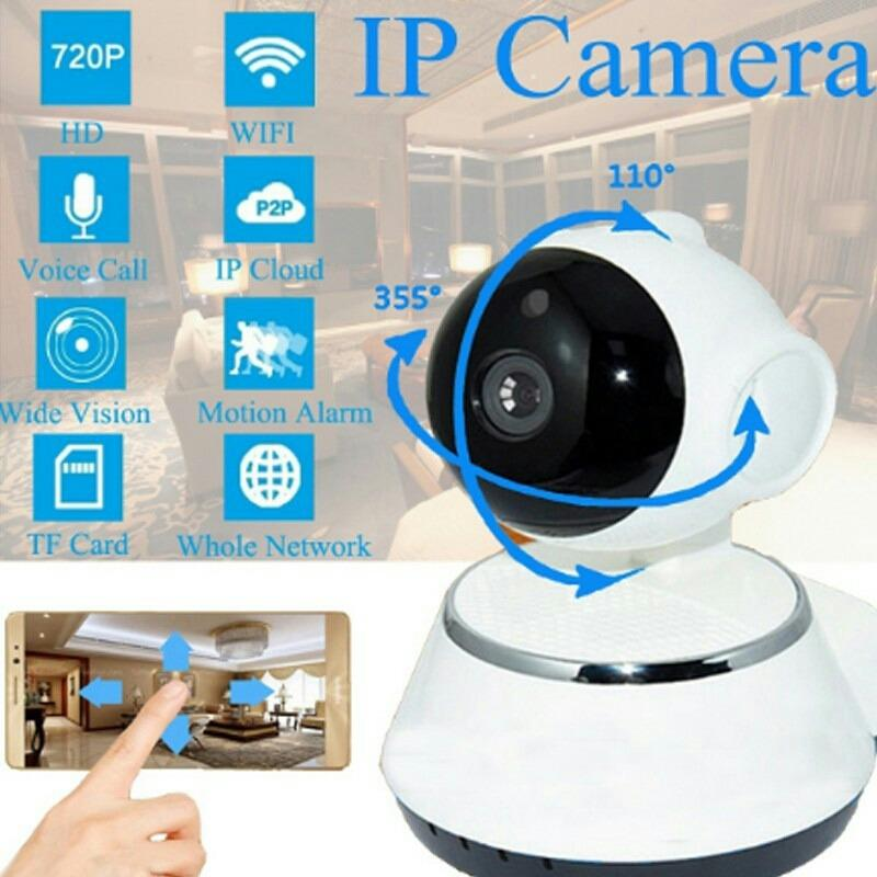 iCSee Wireless CCTV IP Camera WiFi P2P HD support Memory Card Kamera Pengintai Baby Monitor