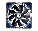 Spek Id Cooling Cf 12025 B 12Cm Circular Blue Led Fan With Pwm Function Hitam Id Cooling