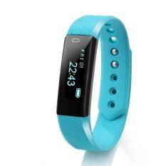 Spesifikasi Id115 Smart Gelang Sport Pedometer Kebugaran Tracker Tidur Monitor Gelang Bluetooth 4 Wterproot Smartband Untuk Ios Android Lima Warna Intl Dan Harganya