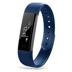 Spek Id115 Smart Wristband Activity Tracker Sleep Monitor Usbrechargeable Interface Intl Tiongkok