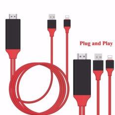 Jual Ifreein 1080 P Lightning Untuk 8Pin Ke Hdmi Adaptor Konverter Mhl Untuk Hdmi Cable Hdtv Adapter Plug And Play Tidak Ada Perlu Wifi Untuk Iphone 5 5 S 6 6 S Plus 7 Plus Ipad Pro Intl Ori