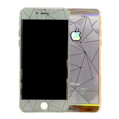Miliki Segera Igear Tempered Glass Protector Diamond Motif For Iphone 4G 4S Silver