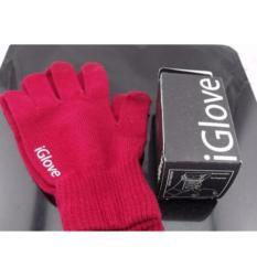 iGlove Sepasang Sarung Tangan Khusus bisa untuk Touch Screen Smartphone iPhone Android Cocok Untuk Ojek Online Dll.