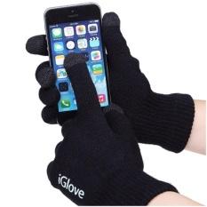 Han's Aksesoris - Iglove Touch Gloves for Smartphones dan Tablet Sarung Tangan Motor Touchscreen Re