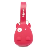 Beli Ikawai Cable Cow Head 2In1 For Ios Android Bb Merah Murah