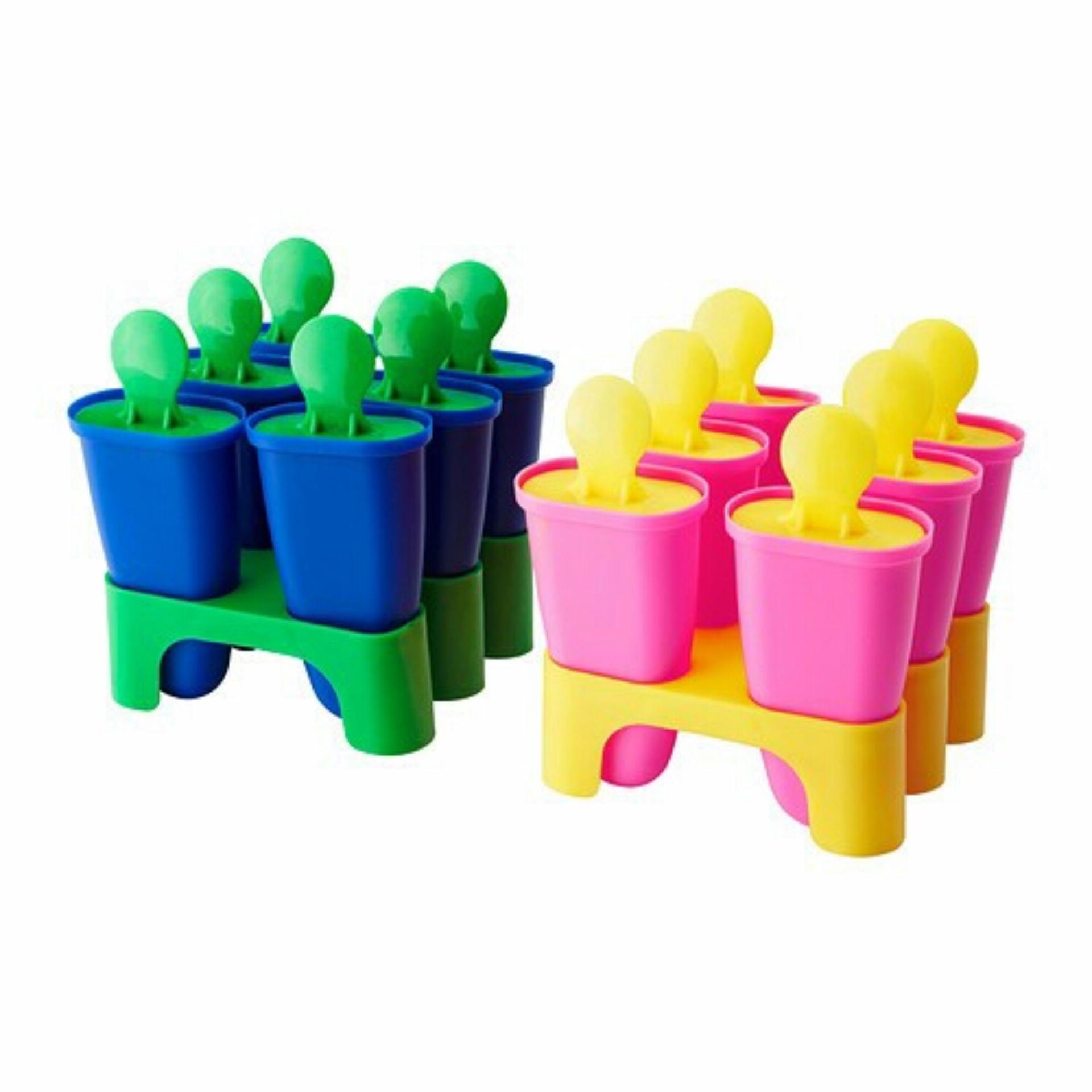 IKEA Chosigt Cetakan Es loly - ice Lolly Maker Cetakan Es Krim - es loli buah