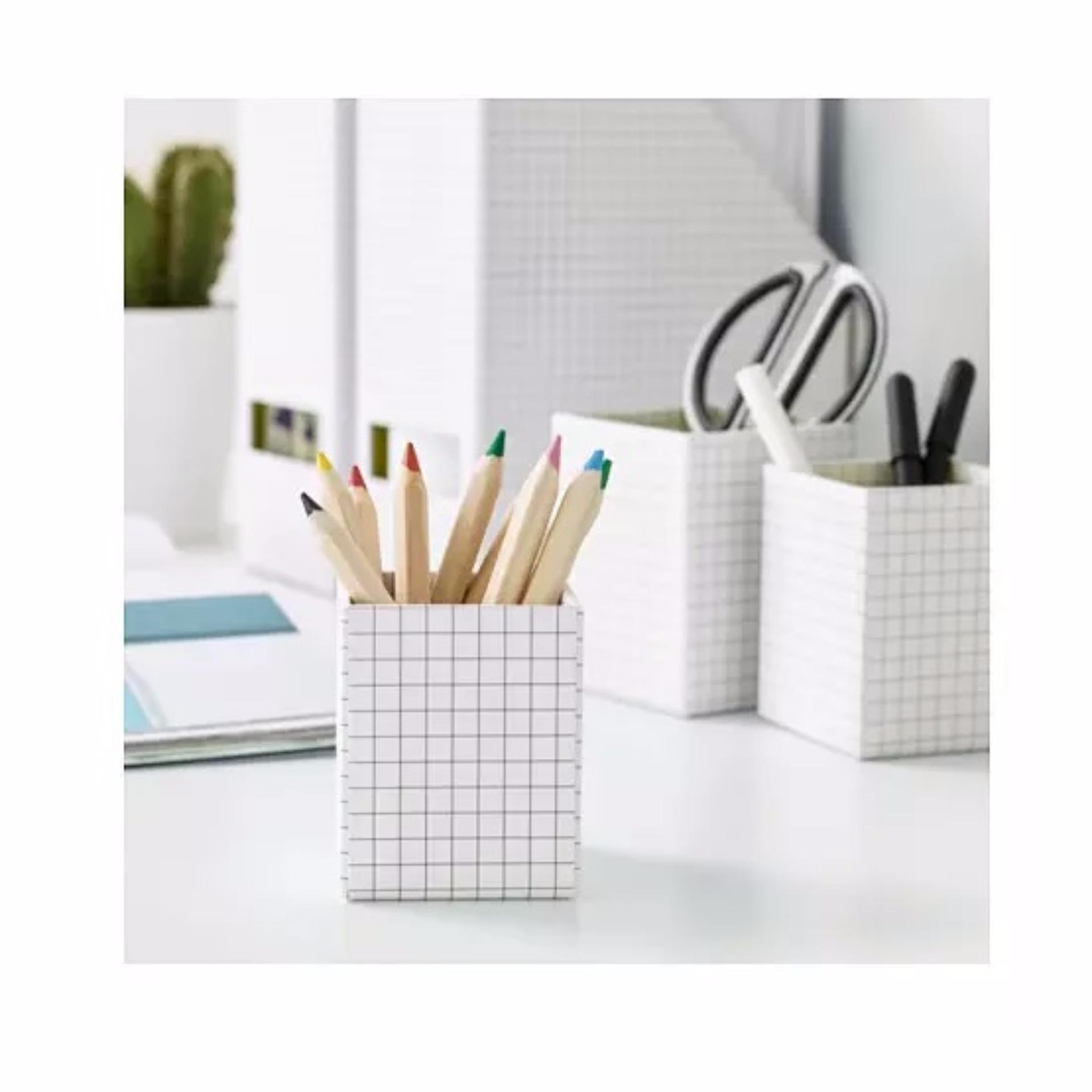 Ikea Gliss Box Dengan Tutup 3 Piece Kuning Putih Pink Daftar Source IKEA .