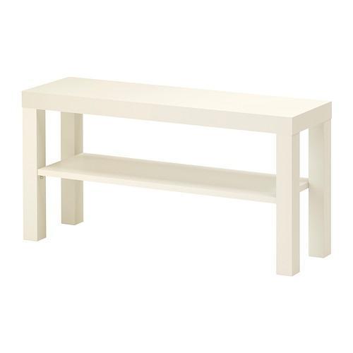 IKEA LACK, Meja TV serbaguna warna putih, ukuran 90x26x45 cm
