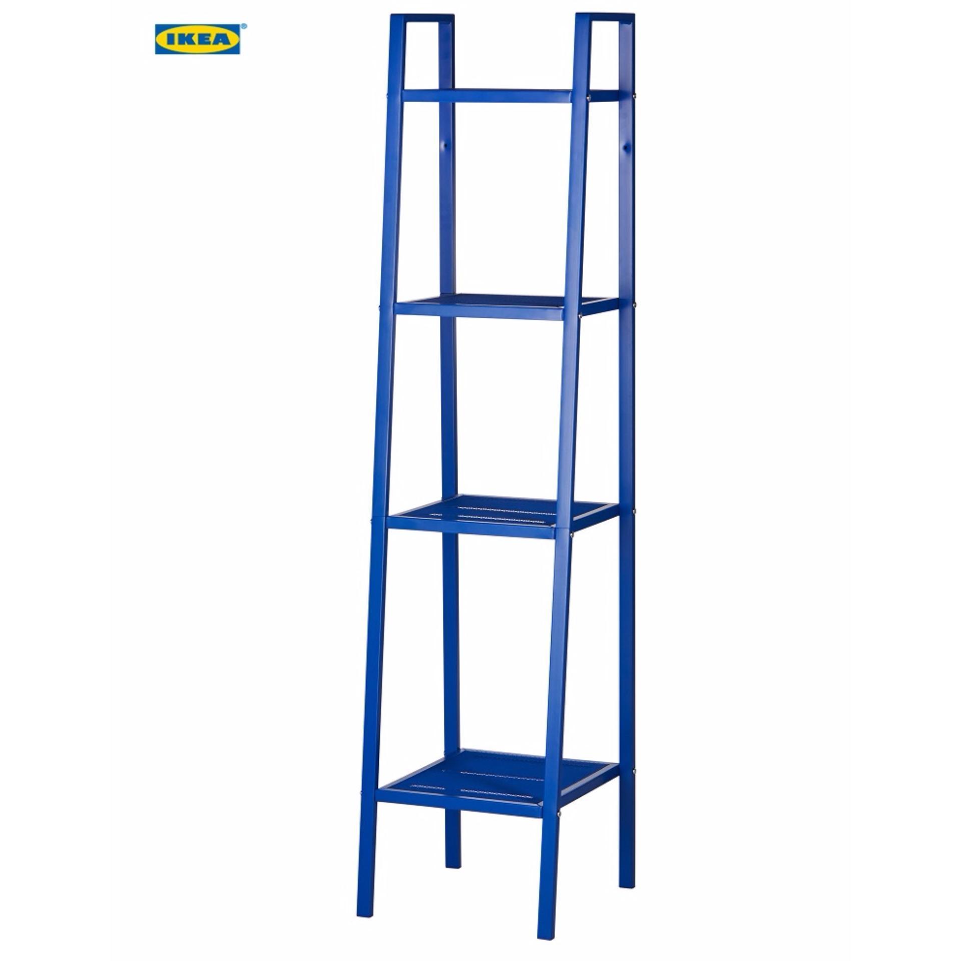 IKEA LERBERG Rak Besi MURAH KEREN 4 Shelving 35 x 148 Cm / Rak Buku / Rak Serbaguna / Rak Besi Baja