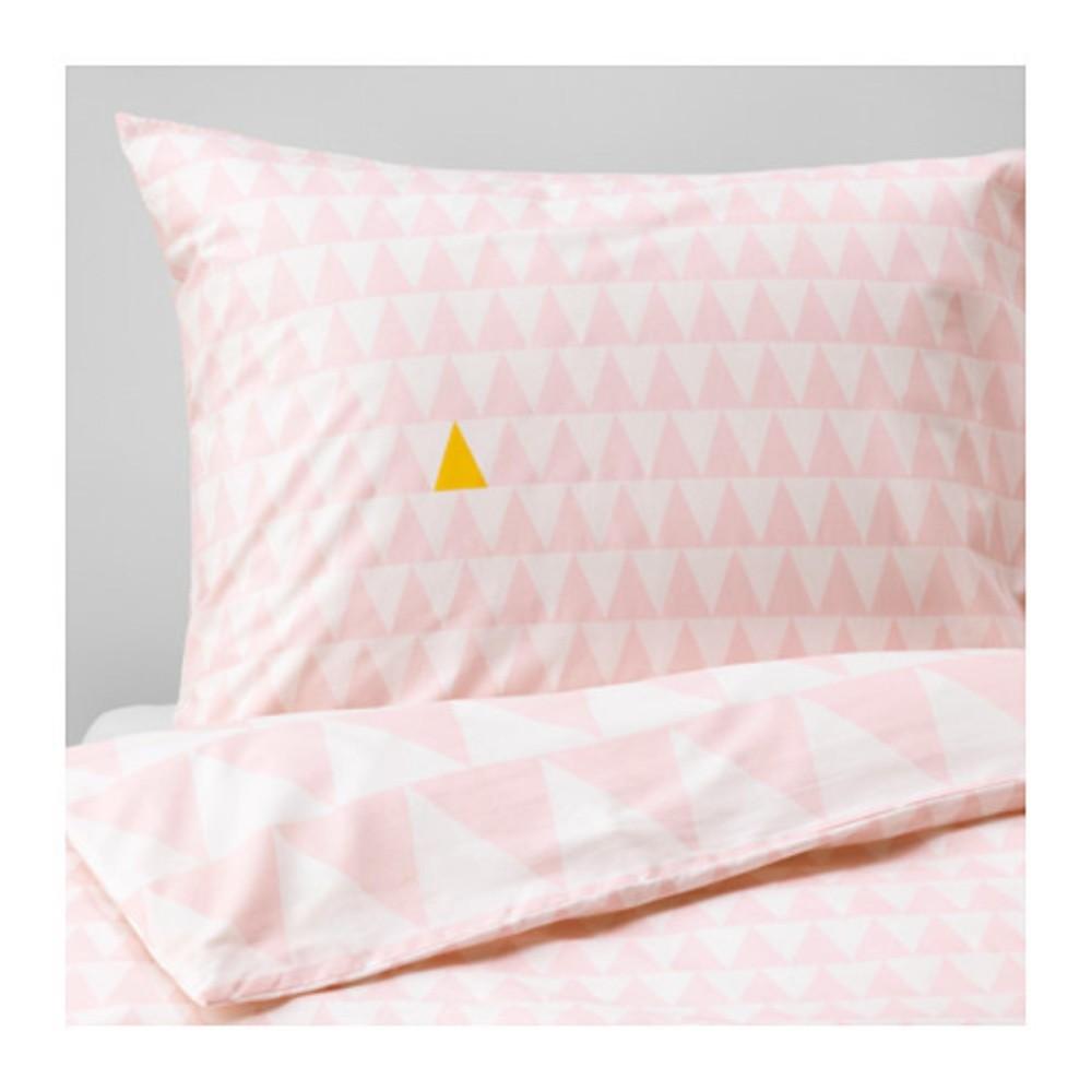 Ulasan Lengkap Ikea Stillsamt Sarung Quilt Dan Sarung Bantal Uk 150X200 Merah Muda
