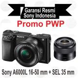 Promo Sony Ilce Alpha A6000L E Pz 16 50Mm F 3 5 5 6 Oss Black Sel 35 Mm F1 8 Black Di Yogyakarta