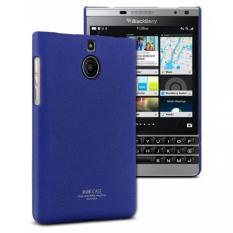 Beli Imak Cowboy Quicksand Ultra Thin Hard Case Untuk Blackberry Passport Silver Edition Biru Seken