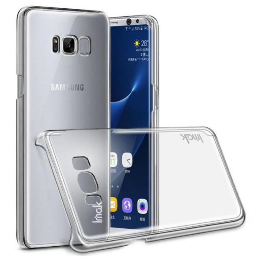 Ulasan Tentang Imak Crystal 2 Ultra Thin Hard Case For Samsung Galaxy S8 Transparent