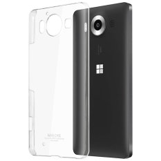 Imak Crystal II Ultra Thin Hard Case for Microsoft Lumia 950 Casing Cover - Transparan