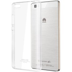 Imak Crystal II Ultra Thin Hard Case Huawei Ascend P8 Lite Casing Cover - Transparan