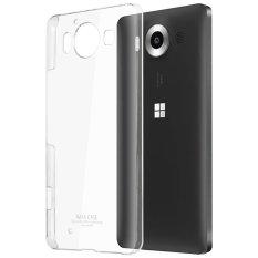 Imak Crystal II Ultra Thin Hard Case Microsoft Lumia 950 Casing Cover - Transparan