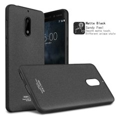 Imak For Nokia 6 Drop Bukti Tpu Casing Ponsel With Film Anti Gores Matte Black Asli