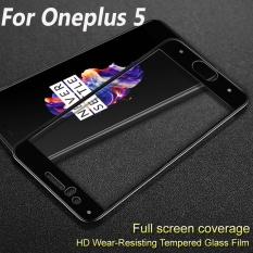 Situs Review Imak Penuh Cover Tempered Glass Untuk Oneplus 5 5 5 Screen Protector Untuk Oneplus5 One Plus 5 Hd 9 H Kaca Pelindung Film Intl