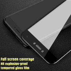 Imak HD Penuh Cakupan Kaca Antigores Pelindung Layar untuk Xiaomi Mi 5c-Hitam-Internasional
