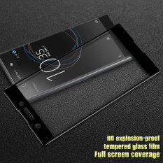 Jual Beli Imak Hd Penuh Ukuran Pelindung Layar Anti Gores Untuk Sony Xperia Xa1 Hitam