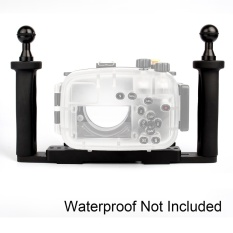 Harga Impor Meikon Dua Tangan Baki Aluminium For Kamera Bawah Air Perumahan Terbaik
