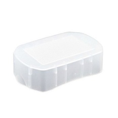 (IMPOR) Soft Flash Bounce Diffuser Cap Cover Box untuk Canon Speedlite 600EX-RT 600 EX-Intl