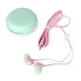 Harga Earphone Di Telinga Dengan Lucu Warna Warni Macaron Kotak Penyimpanan Hijau International Paling Murah