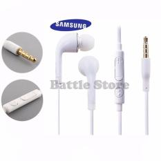 In-Ear J5 Earphone Earbuds Headphone Handsfree Earphones With Mic Volume For SAMSUNG GALAXY S3 S4 S5 Note 3 - Putih