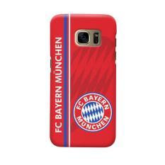Indocustomcase Bayern Munchen FC BM04 Casing Case Cover For Samsung Galaxy S6 Edge