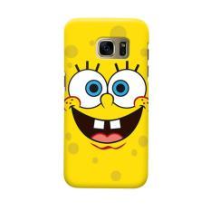Rp 99.000. Indocustomcase Cartoon Spongebob Smile Face Casing Case Cover For Samsung Galaxy S6 EdgeIDR99000