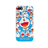 Harga Indocustomcase Doraemon Full Apple Iphone 5 5S Custom Hard Case Multicolor Termurah
