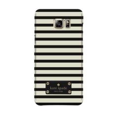 Indocustomcase Kate Spade Stripes Pattern KS04 Case Cover For Samsung Galaxy Note 5 ( N920 )