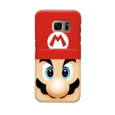 Indocustomcase Super Mario Bross Casing Case Cover For Samsung Galaxy S6 Edge Plus