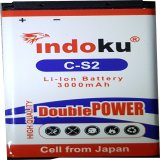 Beli Indoku Battery Double Power For Blackberry C S2 Gemini Kepler Aries 3000 Mah Pake Kartu Kredit