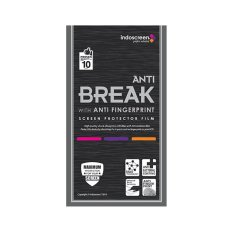 Harga Indoscreen Anti Gores Anti Break Untuk Sony Xperia M5 Fullset Clear New