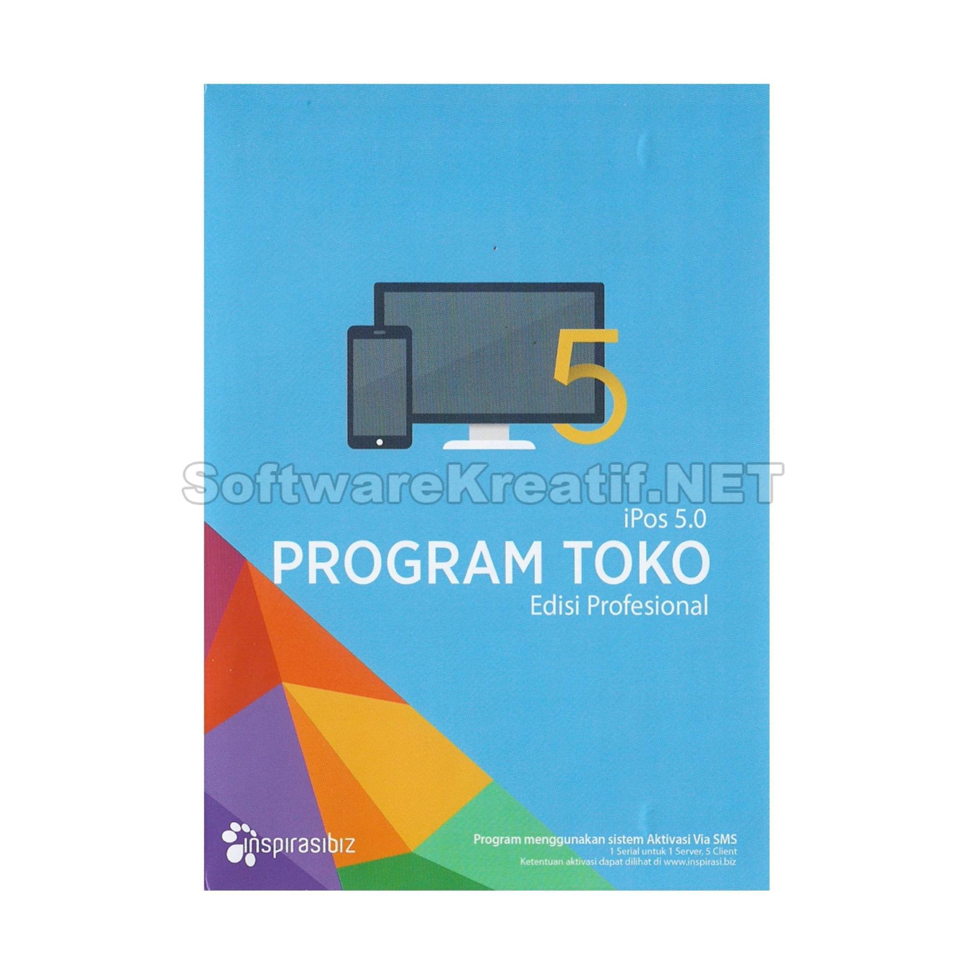 Beli Inspirasibiz Program Toko Ipos 5 Edisi Profesional Software Penjualan Dan Stok Barang Siap Pakai Untuk Ukm Pake Kartu Kredit