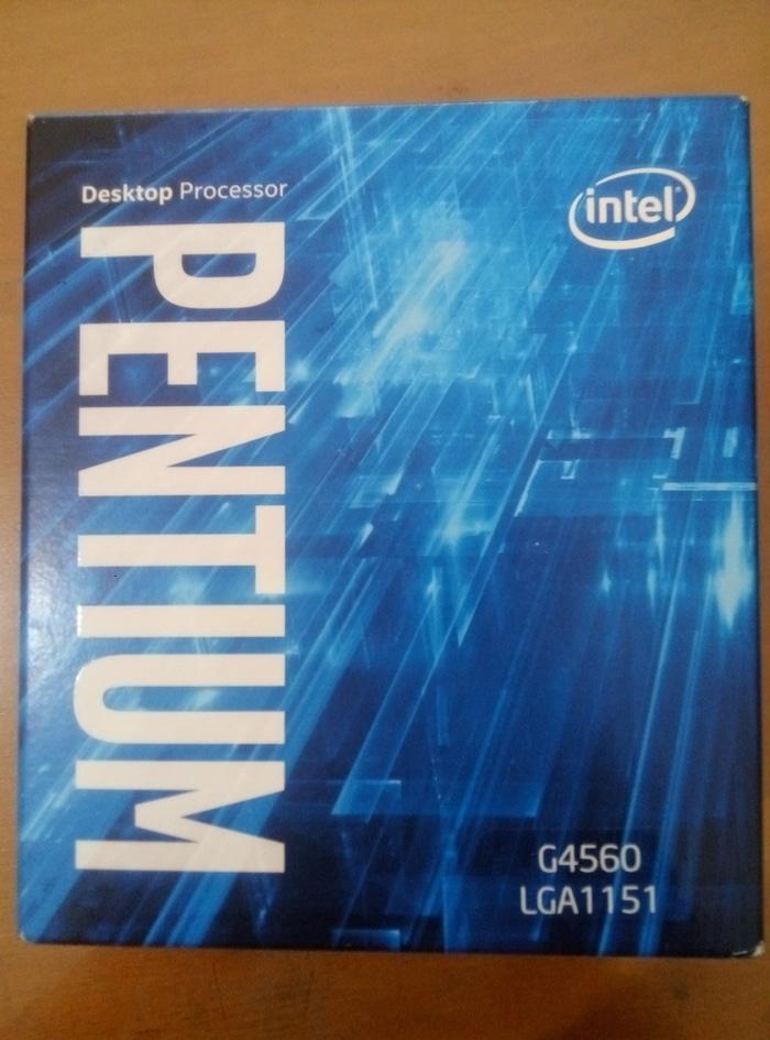Intel Pentium Processor G4560 3M Cache- 3.50 Ghz LGA1151