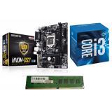 Harga Intel Prosesor Core I3 6100 3 4Ghz Paket Motherboard Gigabyte H110M Ds2 Dan Memori Ddr4 4Gb Merk Intel