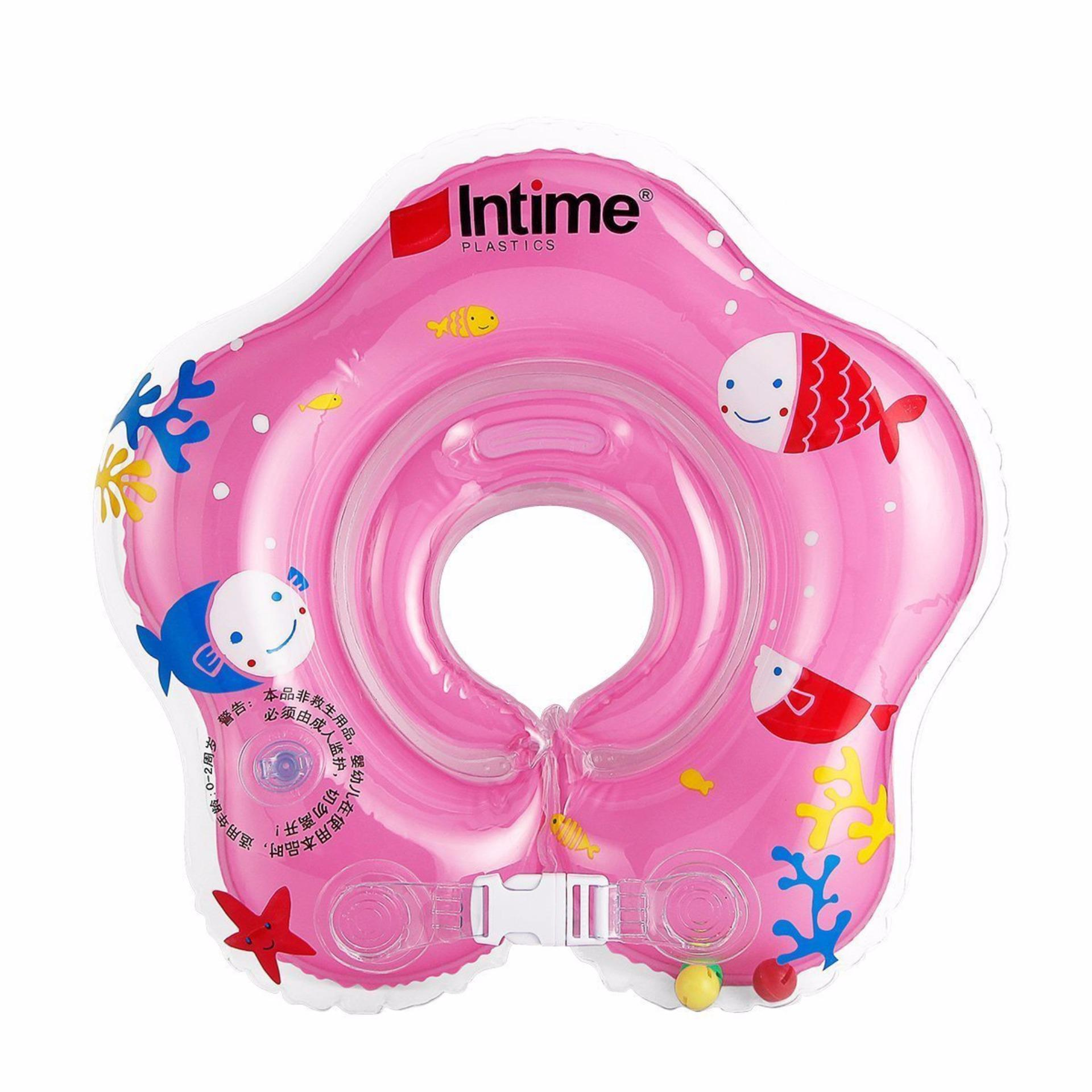 Intime Baby Swim Neckring Bintang. Ban Renang Pelampung Leher Bayi YT-076