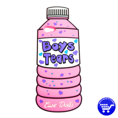 Jual Cepat Intristore Boys Tears Soft Silicon Phone Case Oppo F1S Pink