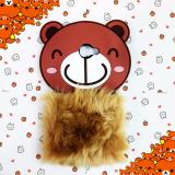 Jual Intristore Cute Bear Fur Sillicon Phone Case Samsung J5 Prime Murah
