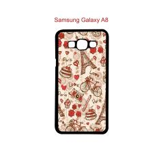 Intristore Hardcase Fashion Printing For Samsung Galaxy A8 - 31