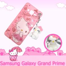 Intristore  Soft Sillicon Phone Case Hello Kitty Gantung For Samsung Grand Prime