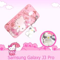 Intristore Soft Sillicon Phone Case Hello Kitty Gantung For Samsung J3 Pro