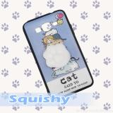 Beli Intristore Softcase Silicon Squishy Cat Trail For Samsung J7 Core Online Terpercaya