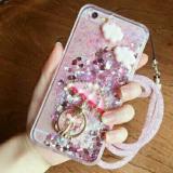 Harga Intristore Water Gliter Umbrella Soft Sillicon Phone Case Oppo F1S Pink Termurah