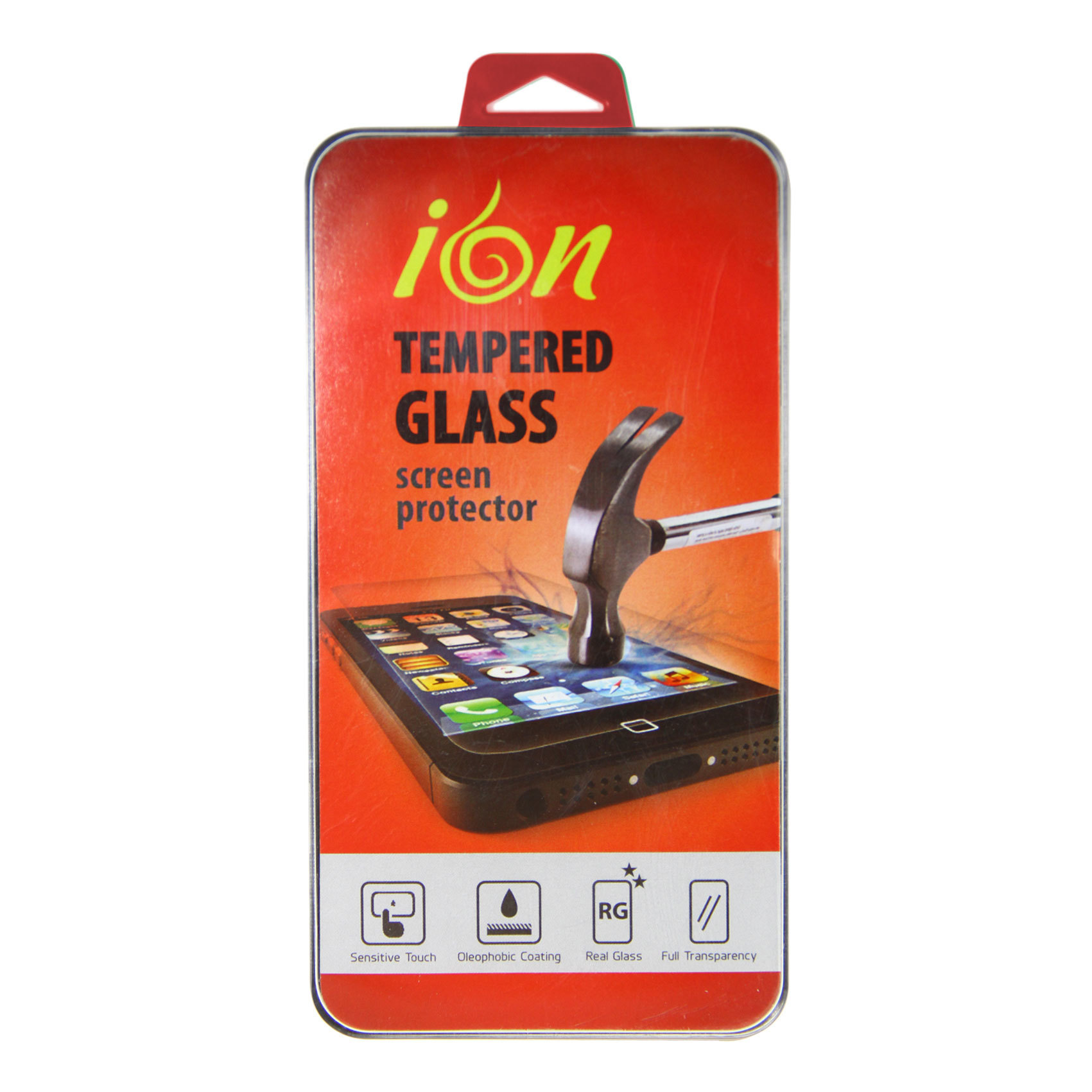 Ion - Lenovo A6010 Tempered Glass Screen Protector - 0.3mm