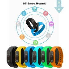 IP67 Waterproof SmartBand M2 Smart Bracelet Wristband 0.42 InchOLED Screen Heart Rate Monitor For Android IOS PK MI2  - intl