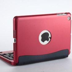 IPad Mini Tipe Dilepas Flip Notebook Mini1/2/3 Magnetik Hisap Nirkabel Bluetooth Keyboard-Intl